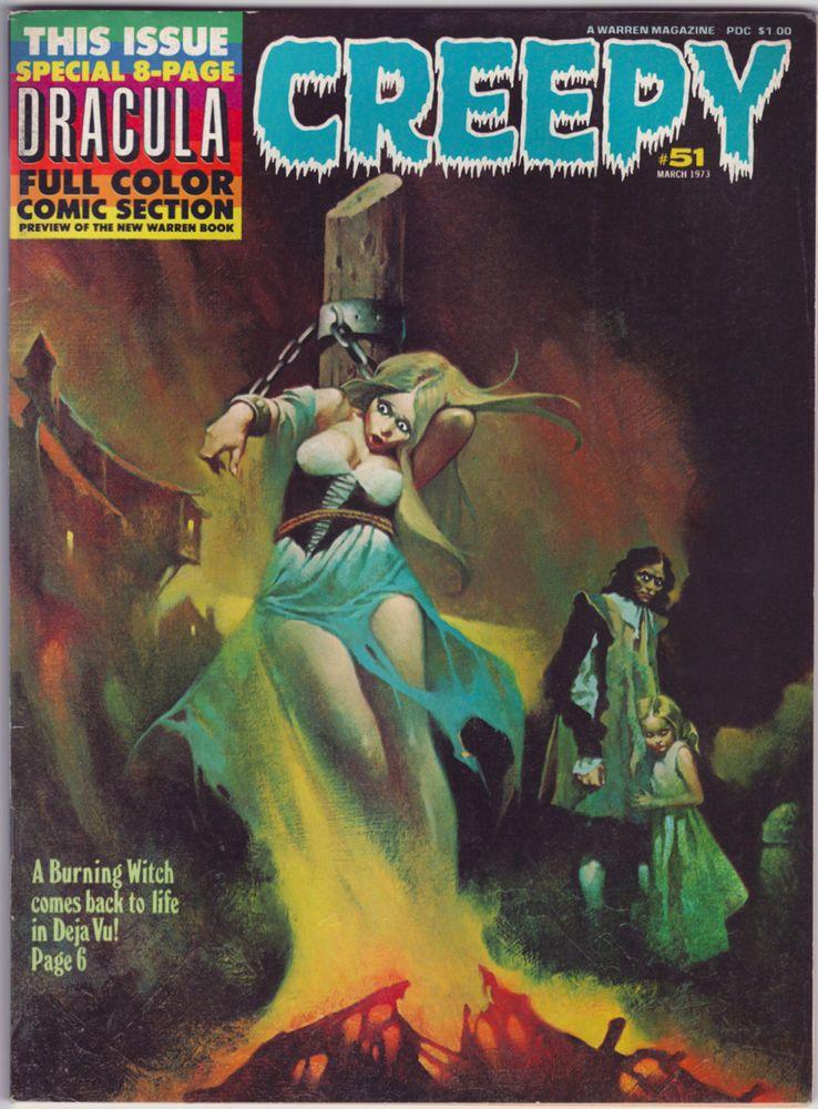 Vintage CREEPY #51 (March 1973)  SANJULIAN  Esteban MAROTO