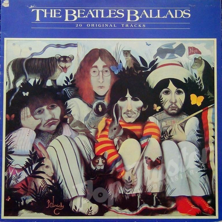 The Beatles Ballads 20 Original Tracks Pcs 7214 St Http Popmaster Pl Risunki Rok Muzyka Bitlz