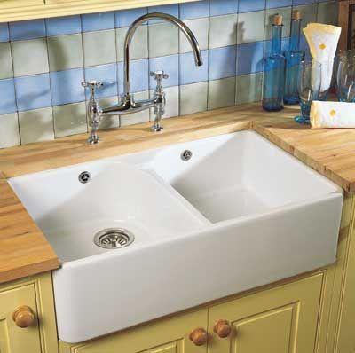 villeroy boch farmhouse dbl sink | Sweet home | Ceramic sink ...
