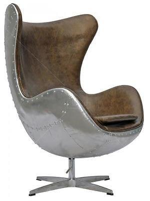 Excellent Details About Aviator Arne Jacobsen Aj Egg Chair Aluminium Beatyapartments Chair Design Images Beatyapartmentscom