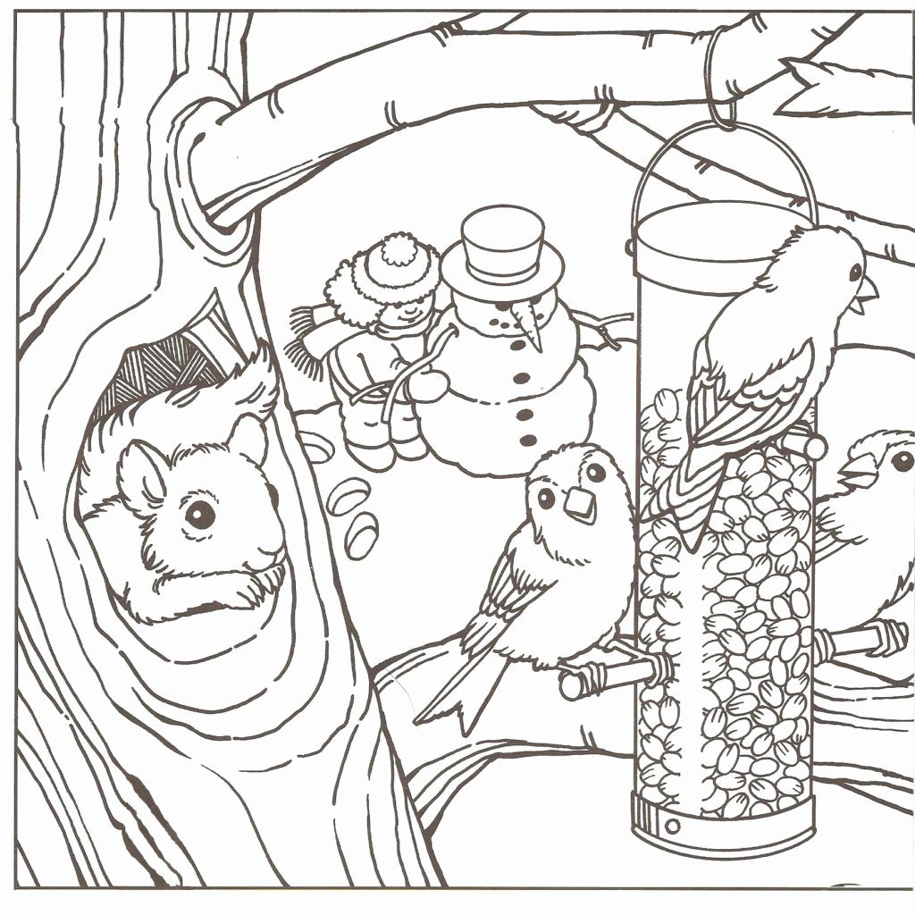Pin on Example Winter Coloring Pages