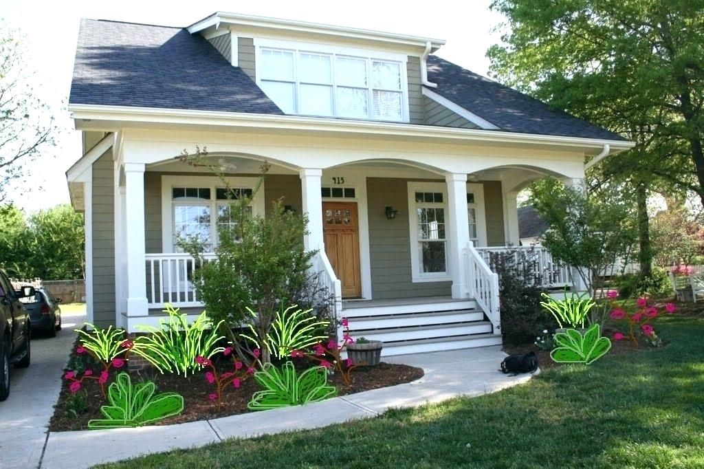 Landscaping Bushes For Front Of House | Front house ...
