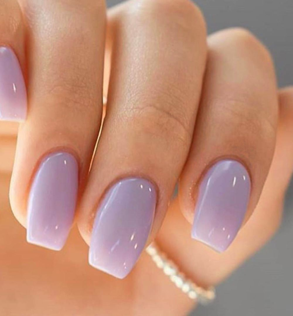 50 Perfect Gel Nail Art Designs Ideas For Girls In Love Purple Gel Nails Purple Nails Lavender Nails