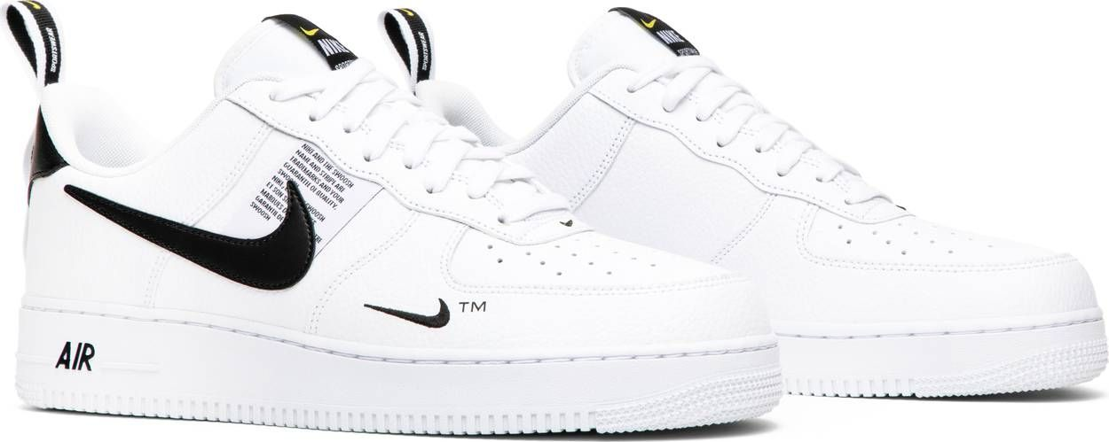 nike air force 1 overbranded