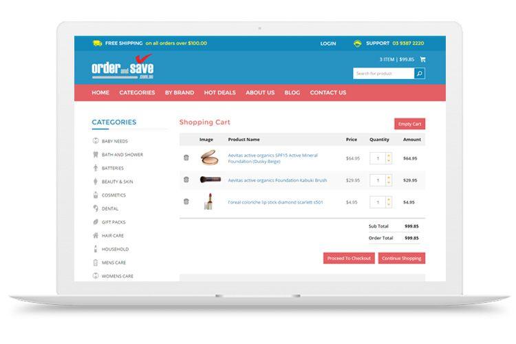 Shopping Cart Web Design Shopping Cart Software Ecommerce Website Web Design