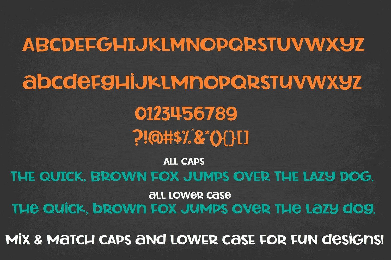 Rocket Science Layering Font Kids school supplies