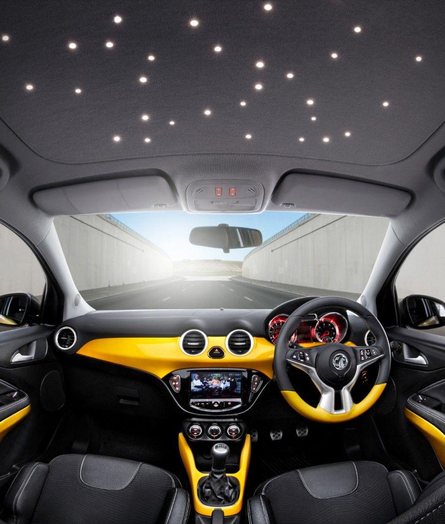 Vauxhall ADAM LED interior roof lights Vauxhall