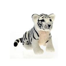 15 Sitting White Tiger Plush Stuffed Animal Toy Plushies And