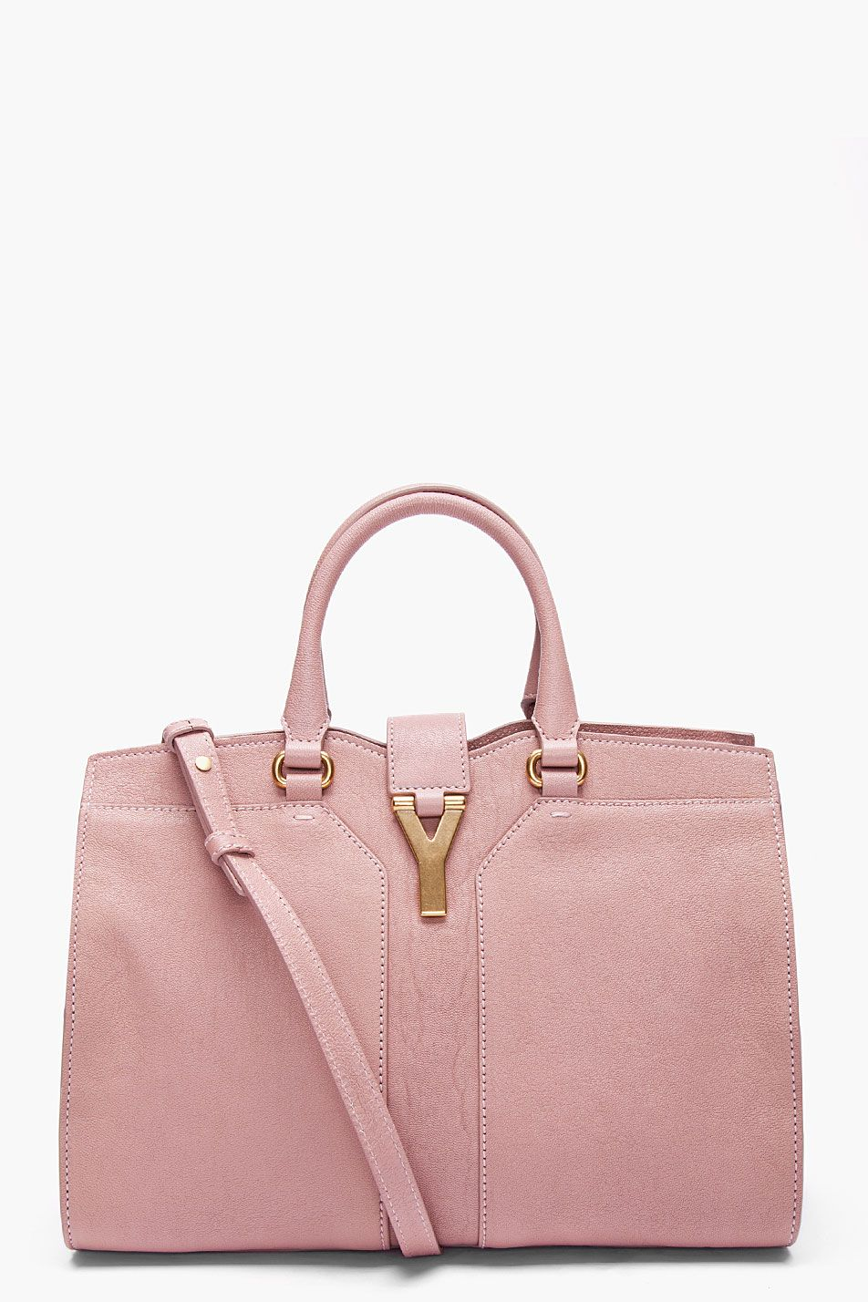 85076ff3b5 YVES SAINT LAURENT Mini Pastel Pink Cabas Chyc Bag... can i please have it.
