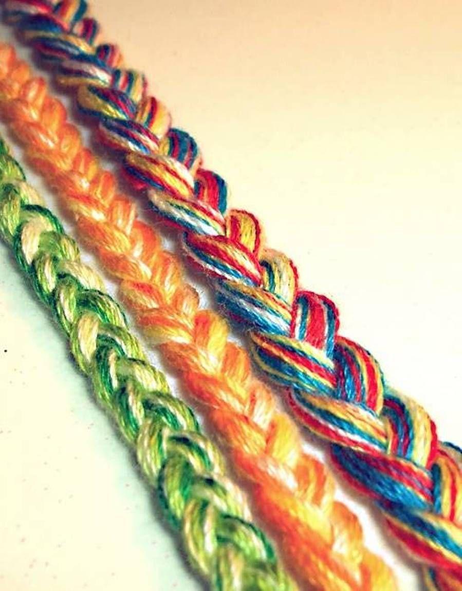 How To Make Easy Friendship Bracelets Cute Beauty Pinterest