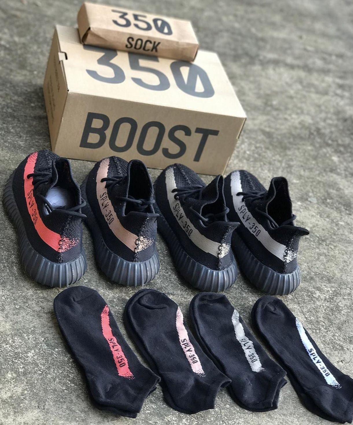 Yeezy Boost 350 V2 SPLY Sock Box \ufeff1 Box