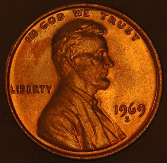 1969-S Double Die Penny auctioned for $126,500 #coins