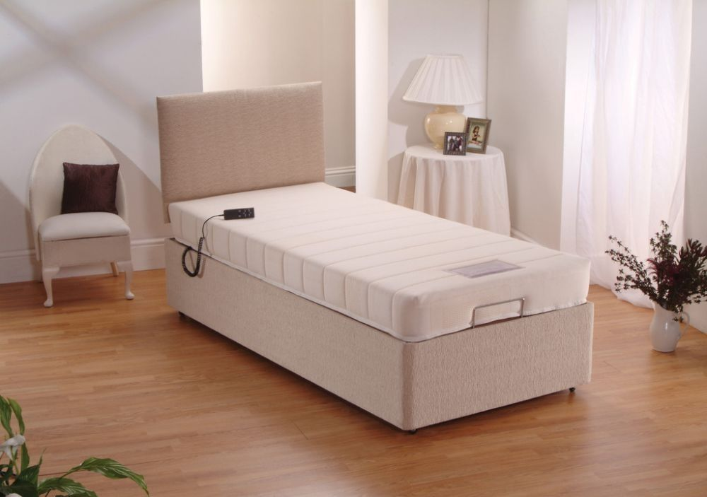 Best Dura Beds Memory Foam Electric Adjustable Divan Bed 400 x 300