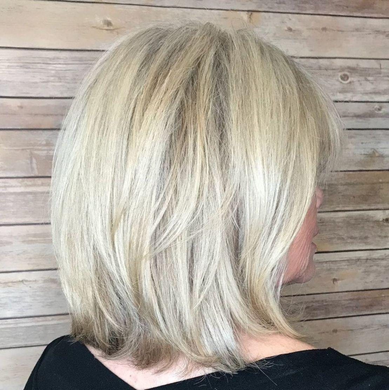 60 medium layered ash blonde hairstyle cool hairstyles
