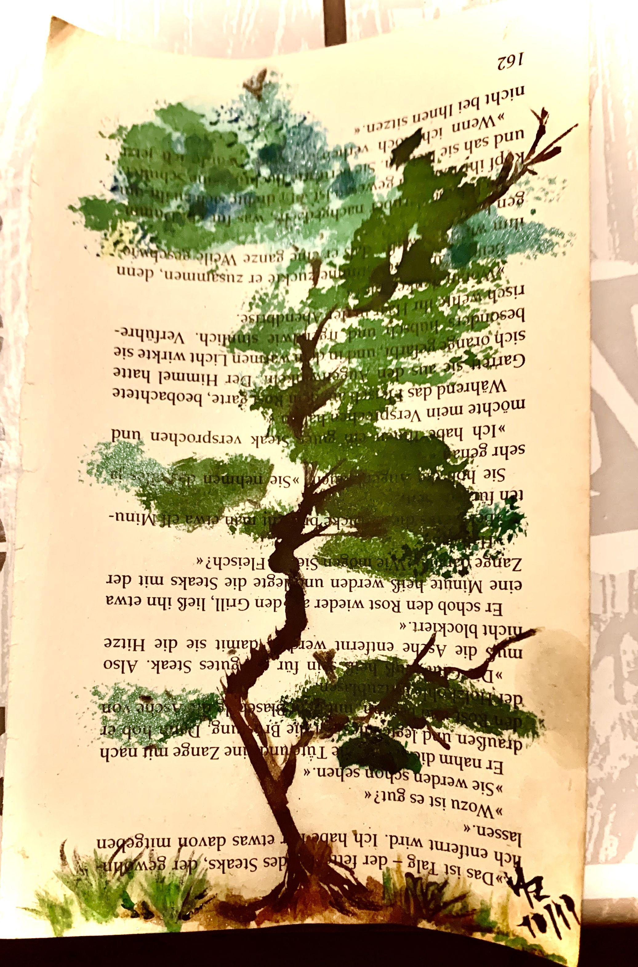 Pin Von Sophie Marie Berlin Auf Malerei Baum Malen Aquarell