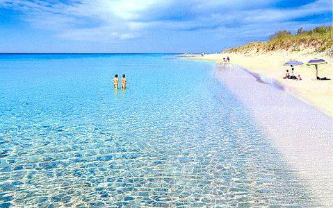 Maldives? No, it's Salento, Puglia! Salento, Maldive