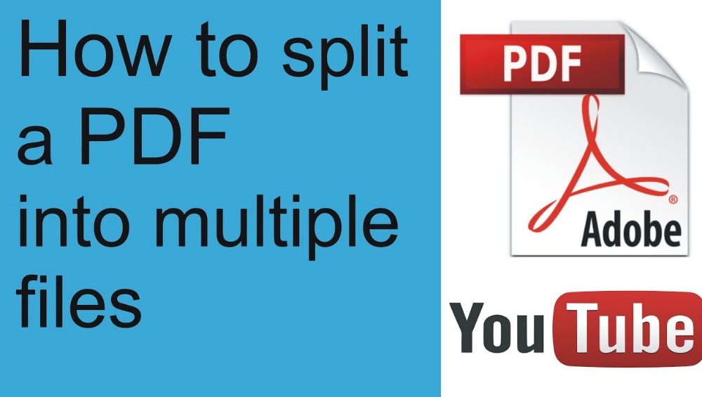 Things You Should Know About To Split Pdf File Into Multiple Files Online How To Split Pdf Splits