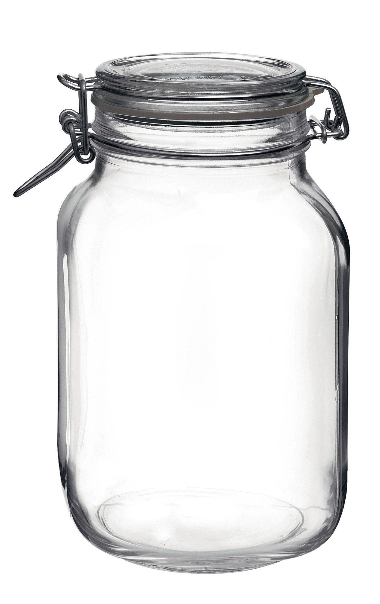 Fido 2 1 Quart Jar Glass Canning Jars Glass Jars With Lids Hermetic Jars