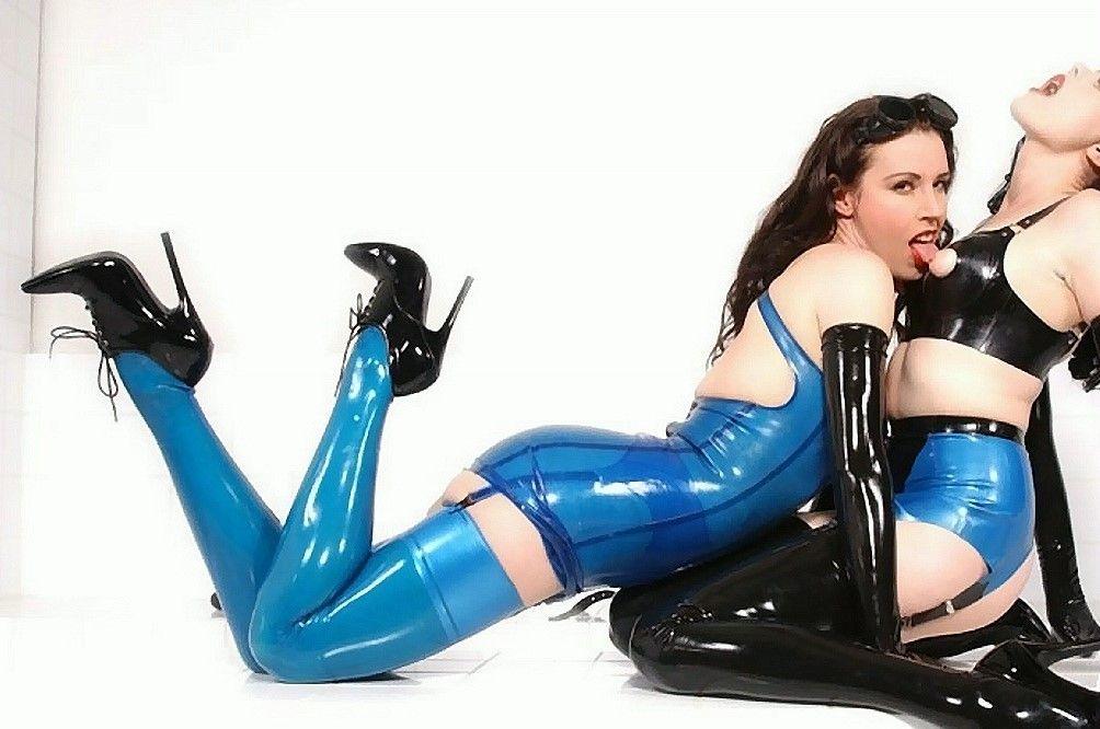Sexy Girls In Latex Plastics Leather More Slutload 1