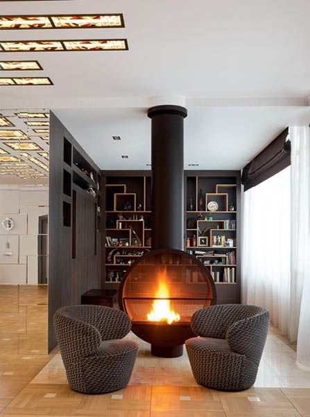 15 Ideas For Interior Decorating Around Fireplace