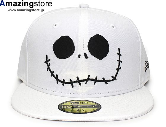 2084662ff0d Jack The Nightmare Before Christmas 59Fifty Fitted Baseball Cap by DISNEY x  NEW ERA