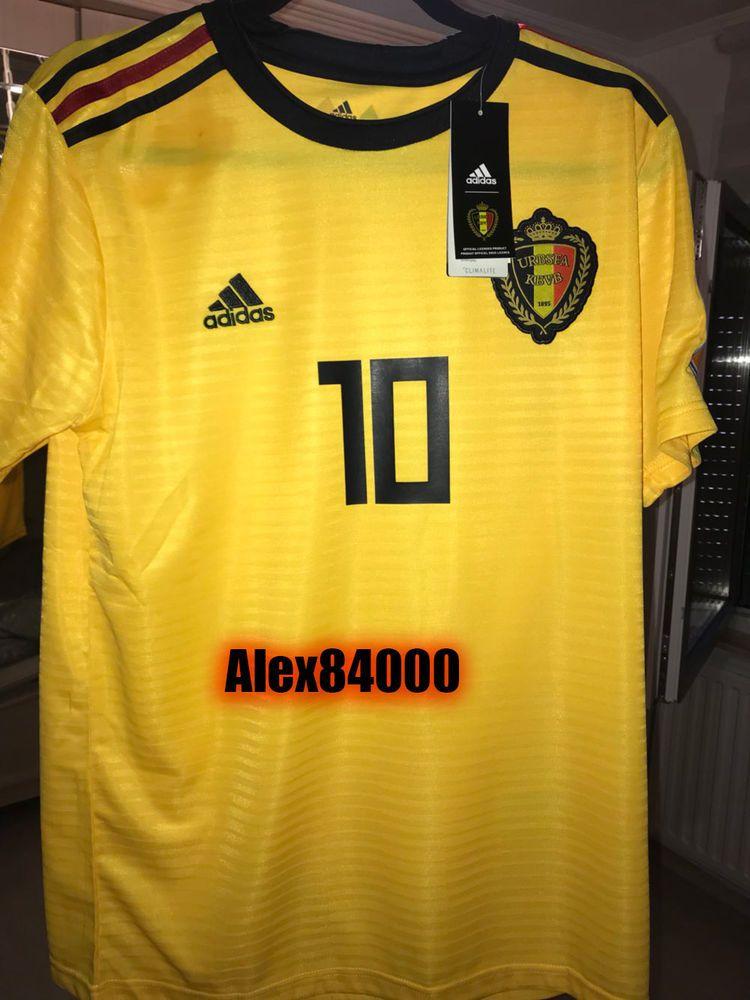 e1a14c57cfd Belgium Jersey Soccer WORLD CUP 2018 HOME Away SHIRT ADULT SIZES Football  BNWT  adidas