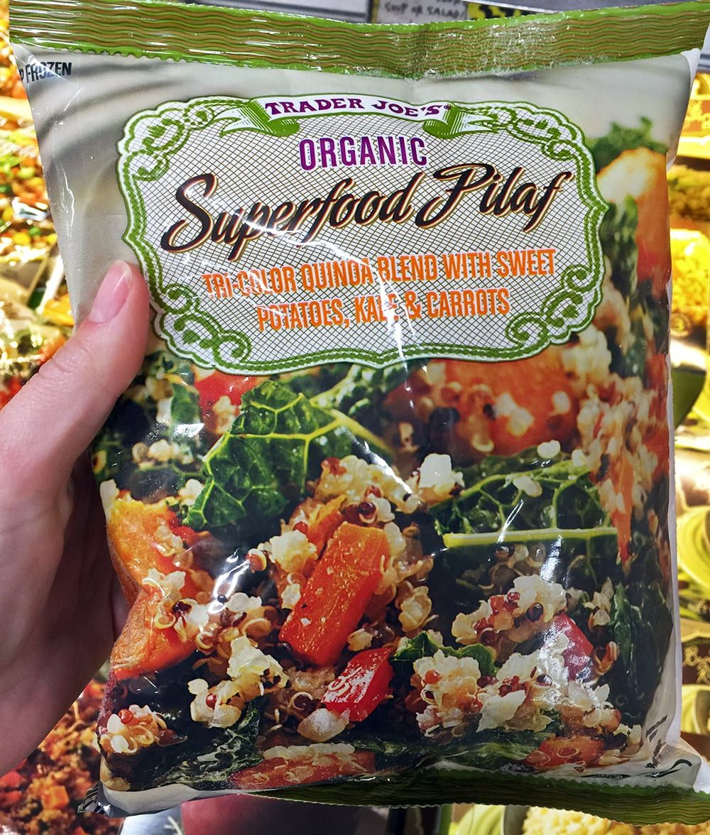 15 of the healthiest frozen foods from trader joes