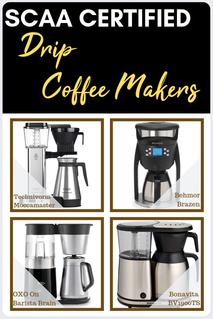 Scaa Certified Coffee Makers Best Tasting Coffee Makers Coffee Maker Best Coffee Maker Coffee Brewing Methods