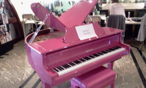 Edelweiss?? Butterfly Grand. Pink Piano PERFECTION! | Go PINK for ...