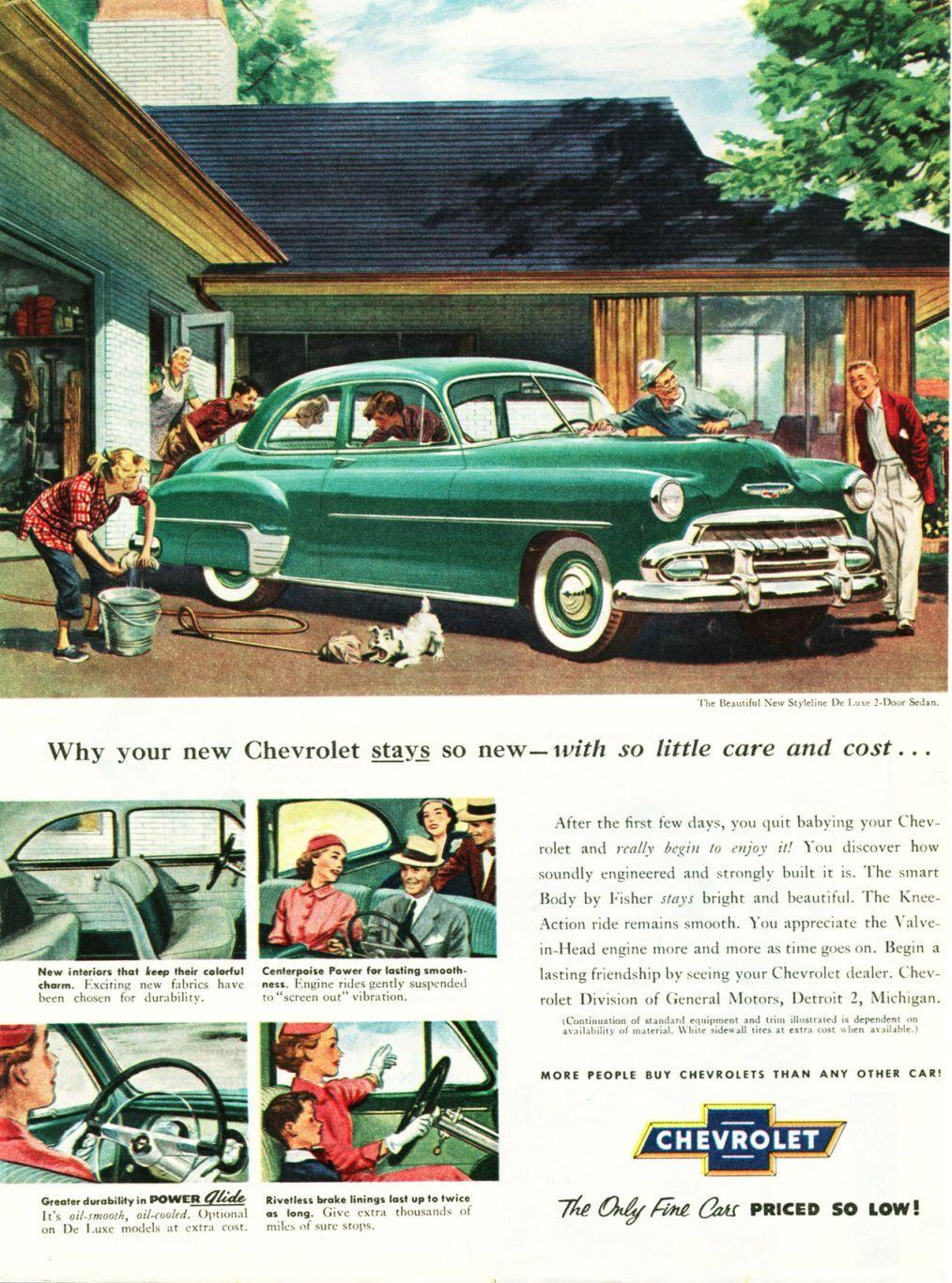 1929 - 1954 Chevrolet Master Parts & Accessories Catalog | 1952 ...
