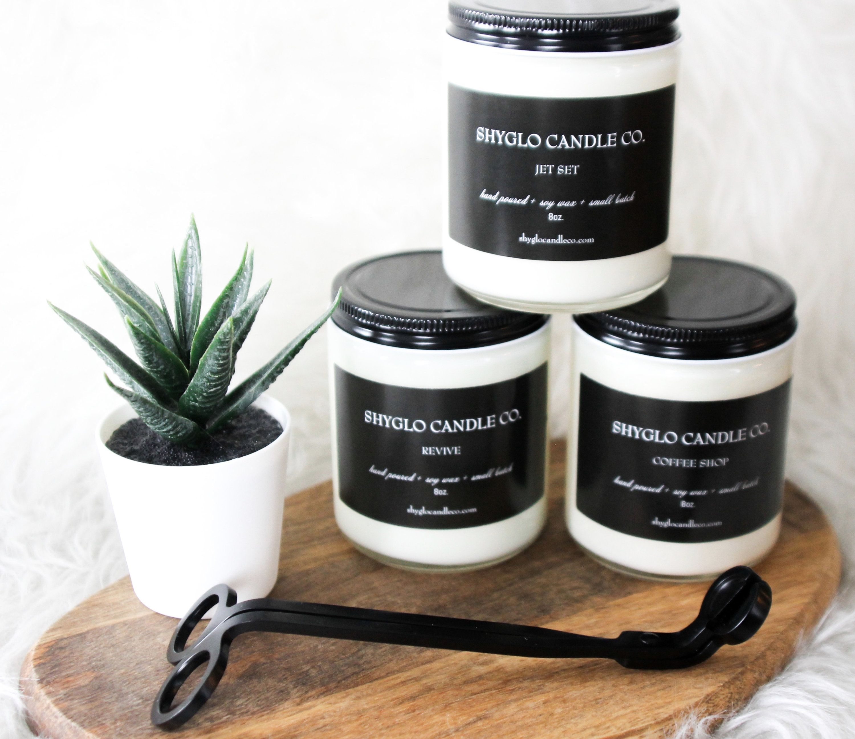 Candle Wick Trimmers Black For Hand Poured Soy Wax Container Candles