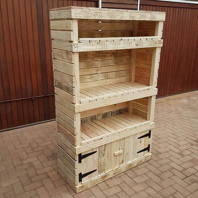 Inspiring DIY Pallet Storage Racks And Cabinets - Sensod - Create. Connect. Brand. & Inspiring DIY Pallet Storage Racks And Cabinets - Sensod - Create ...