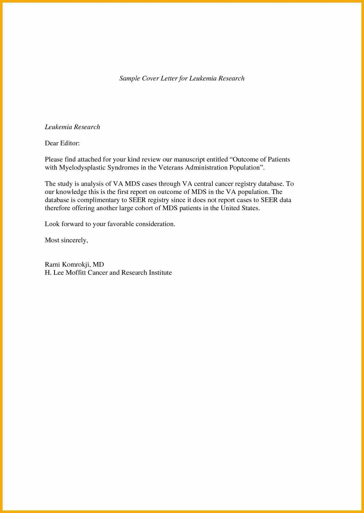 Letter Format For Report Submission. Short cover letterver letter example submission manuscript short  examples job Sample Cover Letter For Journal Submission Gallery