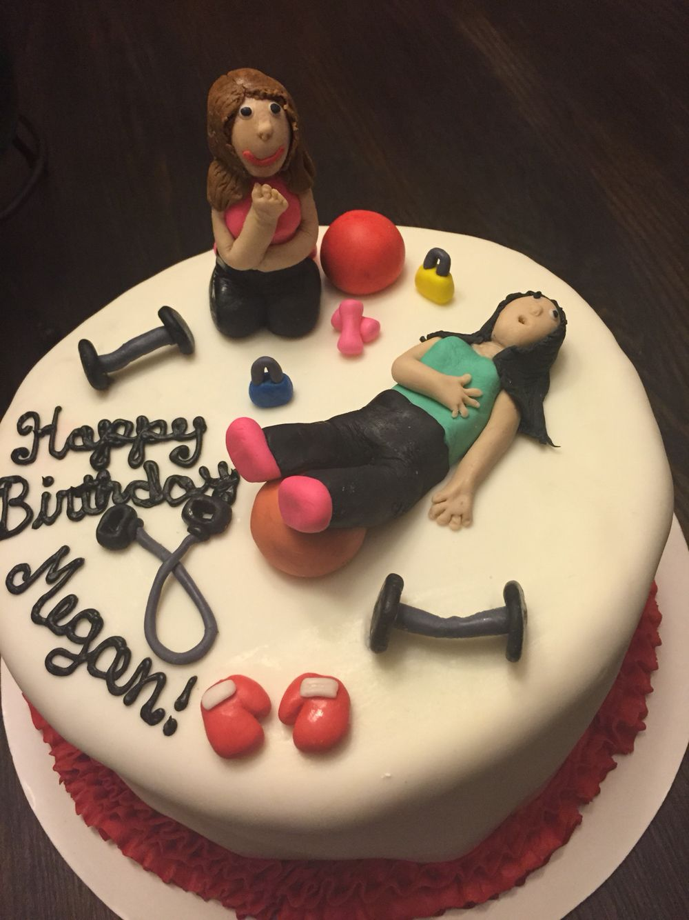 Personal Trainer Cake Cakes Pinterest Cake Birthday Cake And