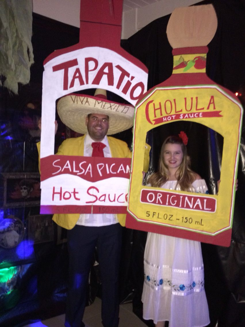 Cholula And Tapatio Hot Sauce Halloween Costumes Halloween