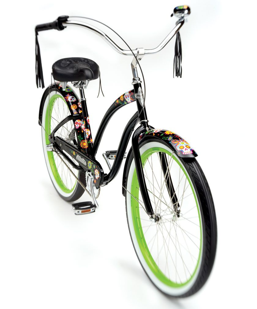 ed9e9b3a428 Electra Sugarskull Cruiser | Electra Cruiser | Bicycle Design | emago media  - graphic & web design