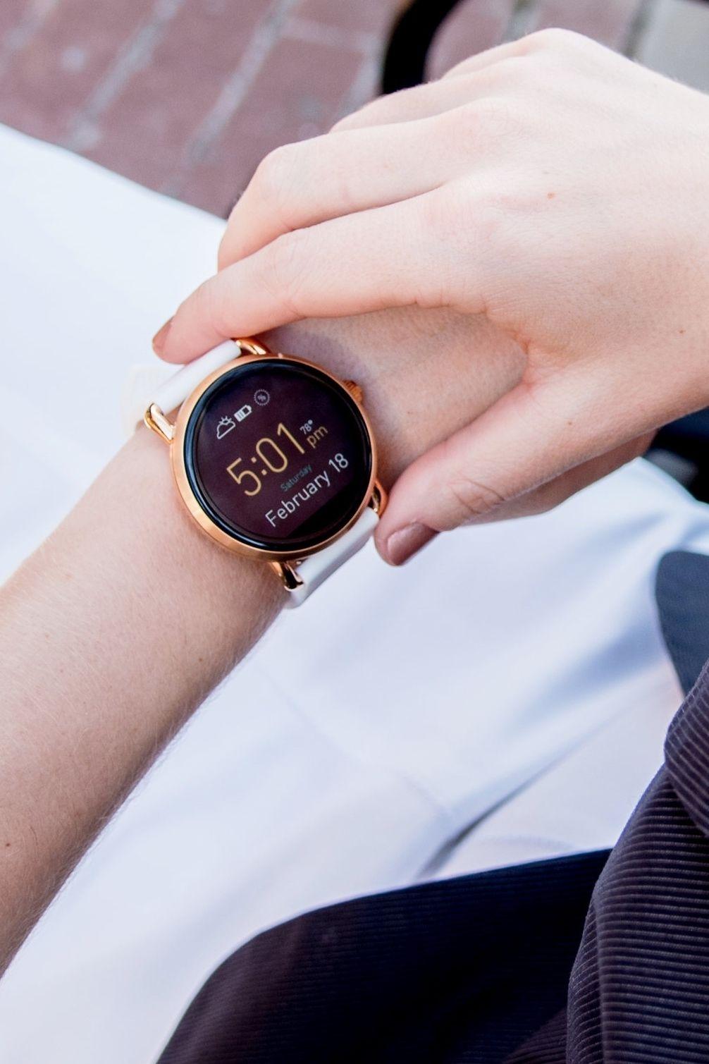 Fossil Q Wander Smartwatch Review Relógios fashion