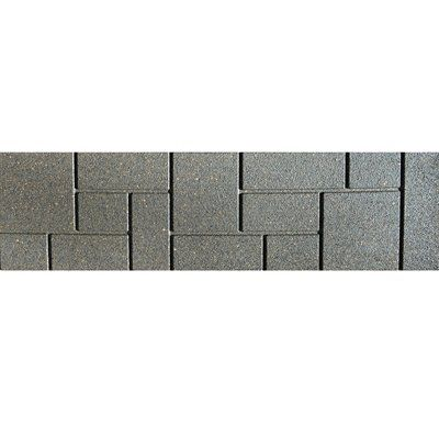 Q Solutions 10 In X 3 Ft Rubber Brickface Paver Paver Patio