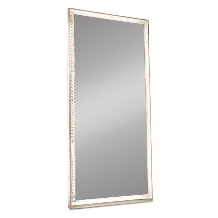 Diamond Collection RADIANT Premium Illuminated Crystal Floor Mirror ...