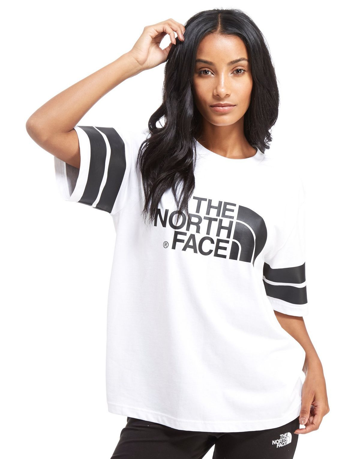 The North Face Stripe T-Shirt Femme