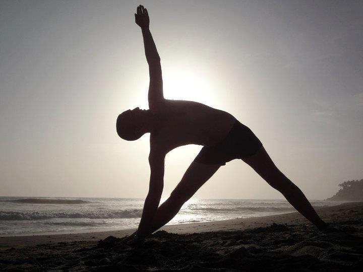 Triangle or Trikonasana. Practicing this posture will help ...