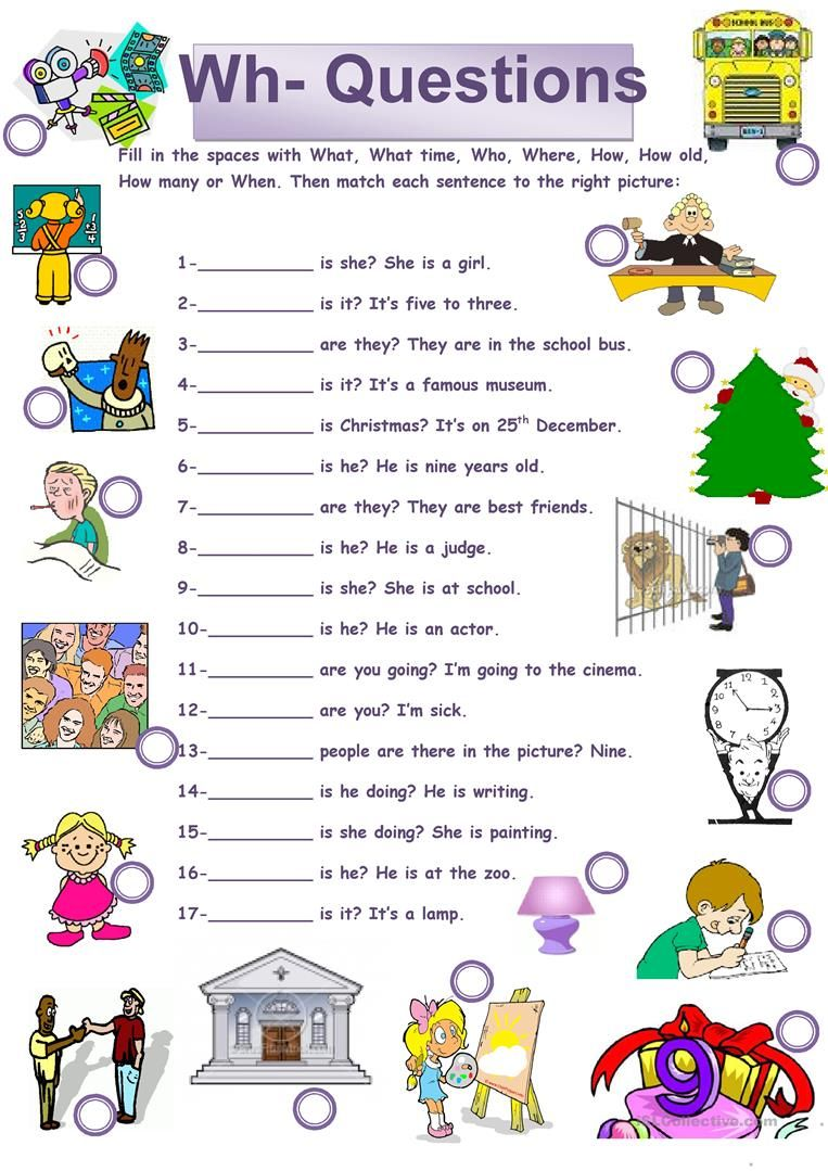 picture relating to Free Printable Wh Questions Worksheets named Pin upon Wh issues