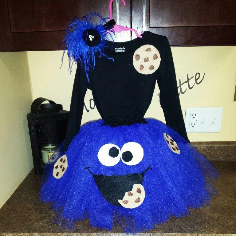 cookie monster diy costume ashley pinterest kost me. Black Bedroom Furniture Sets. Home Design Ideas