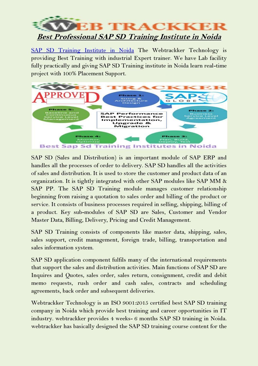 best professional sap sd training institute in noida [ 1059 x 1497 Pixel ]