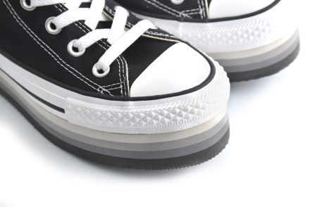 all star converse donna platform borchie