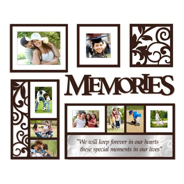 Wallverbs Memories 6 Piece Frames And Plaques Set Bed Bath Beyond Picture Frame Gallery Collage Picture Frames Frames On Wall