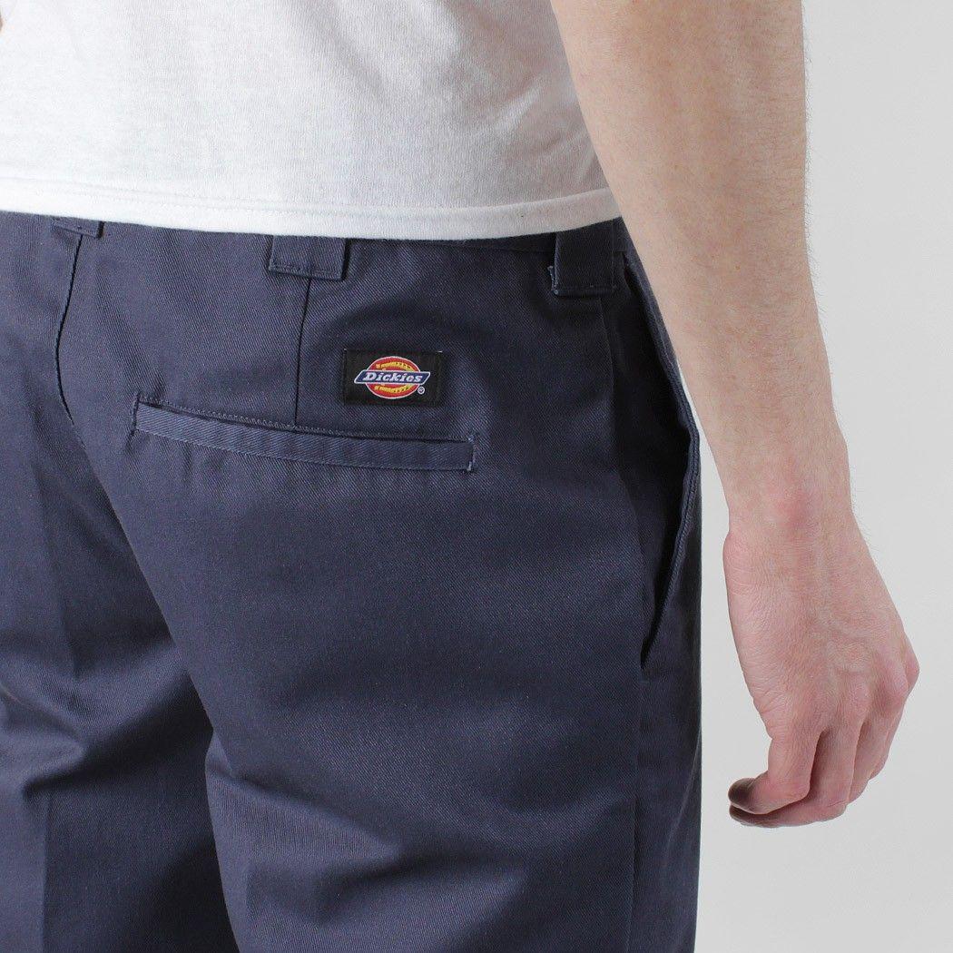 Dickies 872 slim fit work pants navy blue work pants