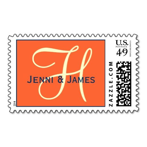 ==> reviews          Orange Blue Cream Monogram Wedding Postage           Orange Blue Cream Monogram Wedding Postage We have the best promotion for you and if you are interested in the related item or need more information reviews from the x customer who are own of them before please follow th...Cleck Hot Deals >>> http://www.zazzle.com/orange_blue_cream_monogram_wedding_postage-172208245903376346?rf=238627982471231924&zbar=1&tc=terrest