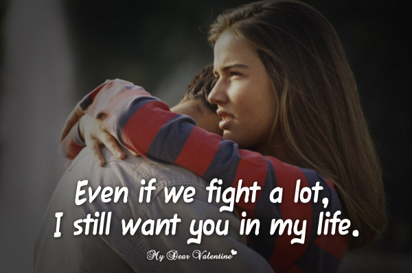Love Quotes And Real Facts For Couples That Fight Long Love Quotes Love Quotes For Him Picture Quotes