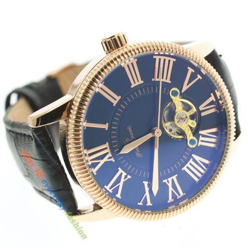Mechanical Automatic Leather Band Gold Case Tourbillion Men's Dress Wrist Watch https://t.co/tc29VwvuU6 https://t.co/D5yRLwq2vI